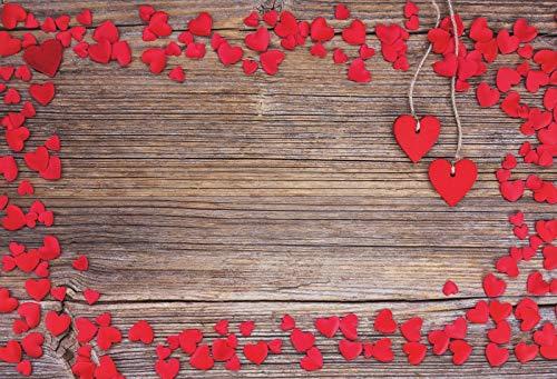 Fondo de Madera para fotografía Flores de Primavera Petal Plank Baby Doll Pet Photozone para Estudio fotográfico Digital Fondo fotográfico A24 7x5ft / 2.1x1.5m