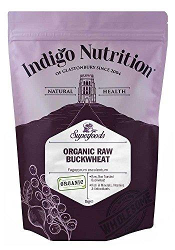 Indigo Herbs Trigo Sarraceno Crudo Orgánico 1kg