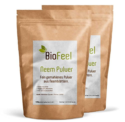 BioFeel - Neem Pulver - 200g - (Niem) - BIO
