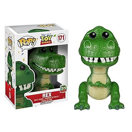 liuyb Toy Story Figura Pop Vinilo Buzz Lightyear Woody Jessie Lotso Hamm Rex Stitch Muñeca De...