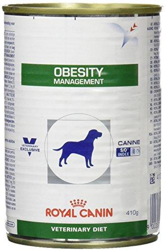 Royal Canin Obesity Management Boîte Nourriture pour Chien 410 g