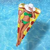 Oficiales 'Piscinas Inflable Gigante Rebanada de Pizza del Flotador | Flotador...