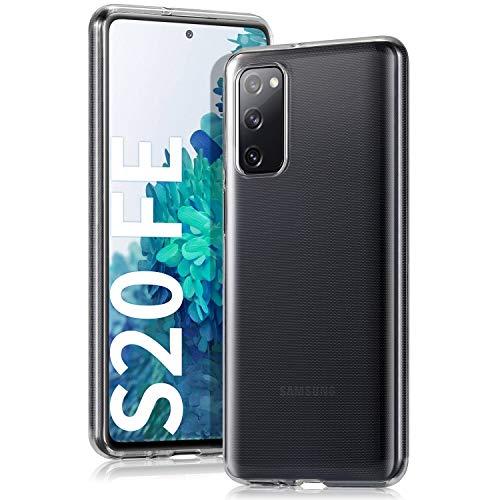 Wonantorna Funda para Samsung Galaxy S20 FE/S20 FE 5G, [Anti-Amarillo] [Ultra Delgado] [HD Claro] [A Prueba de Golpes] Carcasa de TPU Silicona Suave para Samsung Galaxy S20 FE 5G - Transparente