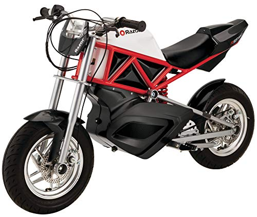 Our #8 Pick is the Razor Electric Street Bike Electric Moped