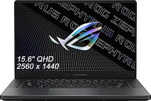 ASUS ROG Zephyrus G15 15.6' QHD (2560 x 1440) IPS Gaming Laptop, Ryzen 9 5900HS, RGB Backlit KB, USB-C, GeForce RTX 3080 Graphics, Windows 10 Home + WOOV 32GB MSD (40GB RAM   2TB PCIe SSD)