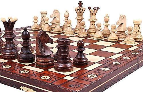 tienda en linea The Jarilo - Unique Wood Chess Set, Pieces, Chess Chess Chess Board & Storage by ChessCentral  venta de ofertas