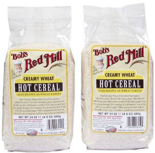 Bob's Red Mill Farina White Wheat Cereal, 24 oz, 2 pk