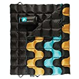 Horizon Hound Down Camping Blanket - Outdoor Lightweight Packable Down Blanket Compact Water Resistant and Warm for Camping Hiking Travel - 650 Fill Power