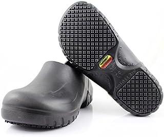 Laforst Atomic Unisex Slip Resistant Work Shoes Slip on Black
