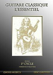 Partitions classique Omnis Musica GAUTIER E. - GUITARE CLASSIQUE. L\'ESSENTIEL - PARTITIONS ET TABLATURES Guitare