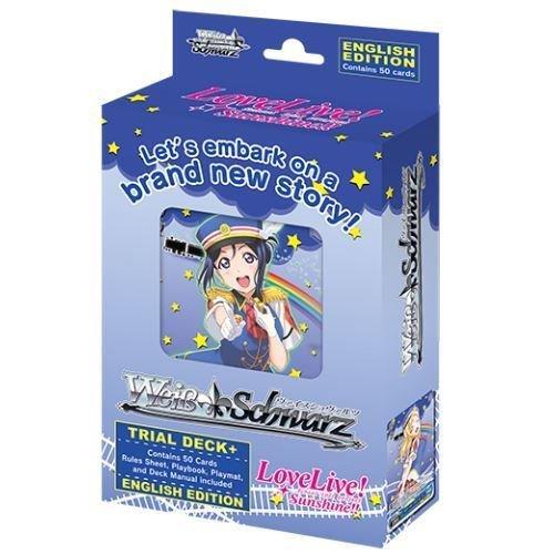 Weiss Schwarz Love Live Sunshine Trial Deck Plus English - 50 cards