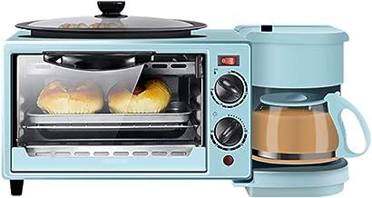 آلة إفطار متعددة الوظائف - آلة خبز منزلية مقلية ثلاثة في واحد جهاز كهربائي تلقائي، خبز درجة حرارة ثابتة، مقاومة للتآكل بدر...