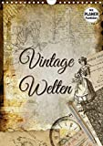 Vintage Welten (Wandkalender 2020 DIN A4 hoch)
