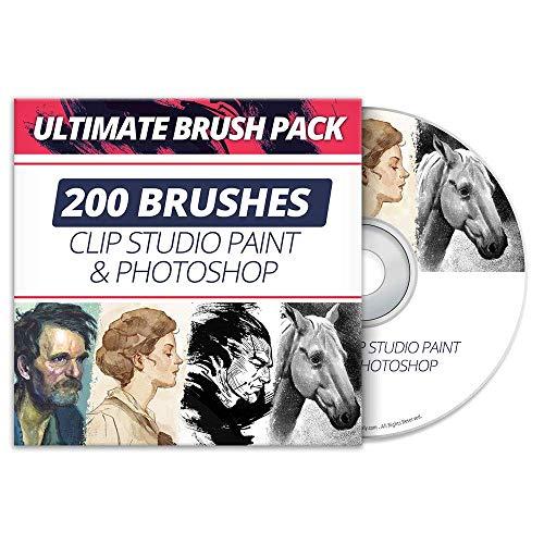 Ultimate Pinsel-Set für Clip Studio Paint & Photo Shop
