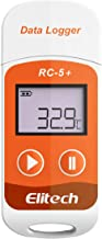 Elitech RC-5+ PDF USB Temperature Data Logger Reusable Recorder 32000 Points High Accuracy