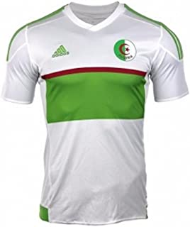 189364b628d73d adidas 2017-2018 Algeria Home Football Soccer T-Shirt Maillot