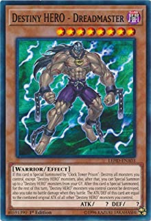destiny hero dreadmaster yugioh