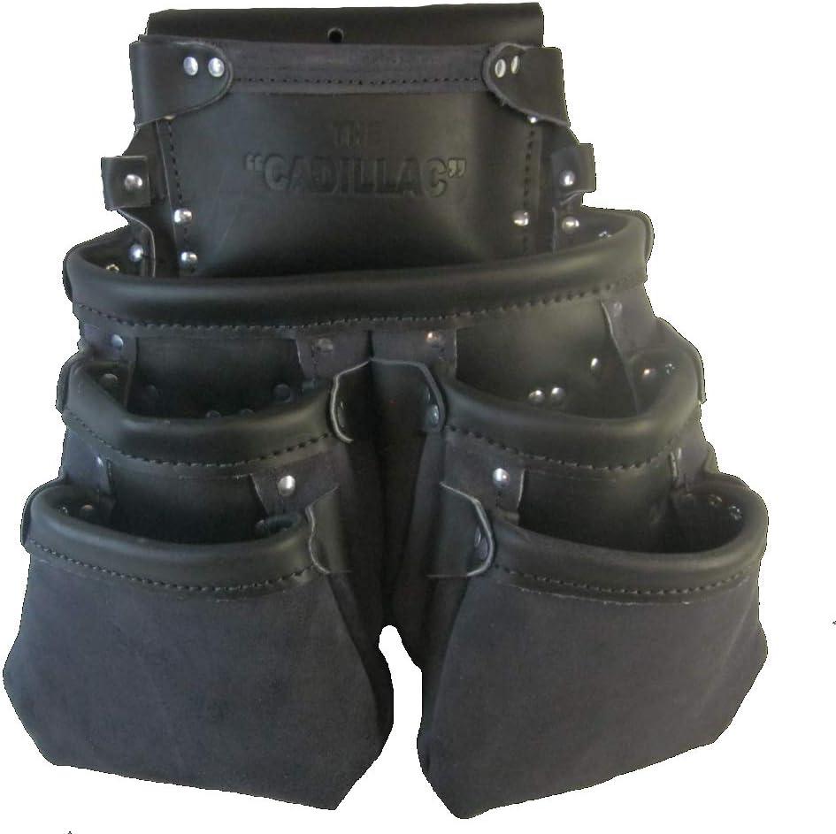 6 在庫あり Pocket 100% 在庫一掃 Leather Nail Pouch Drywall Tradesman P - Quality
