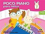 Poco piano para niños 1: Spanish Language Edition (Poco Studio Edition)