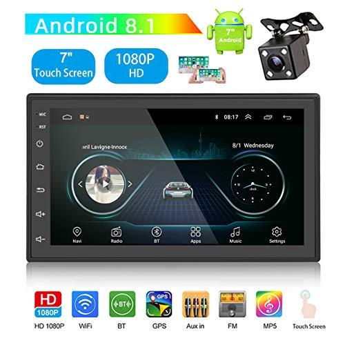 GOFORJUMP Android 8.1 autoradio stereo GPS navigatie Bluetooth FM WiFi Universal 7