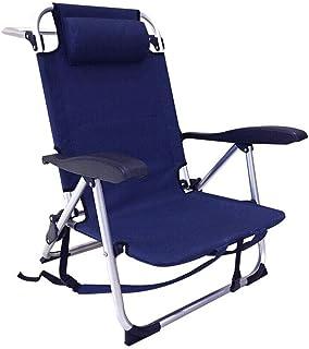 silla playa nylon y aluminio