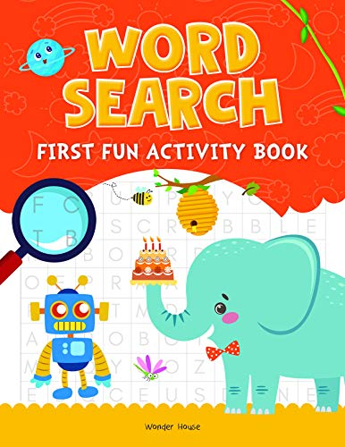 Word Search: First Fun Activity Books for Kids