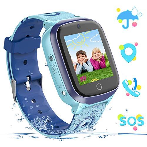 YENISEY Kids Smart Watch for Boys Girls Two Way Call Waterproof Smartwatch Phone SOS Alarm Clock...