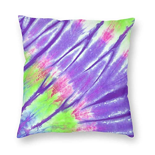 QUEMIN Throw Pillow Cover Watercolor Balls and Stars Decorative Square Pillowcase Christmas Throw Cushion Case for Bedroom, Living Room, Sofa, Couch and Bed, 18 X 18 Inches