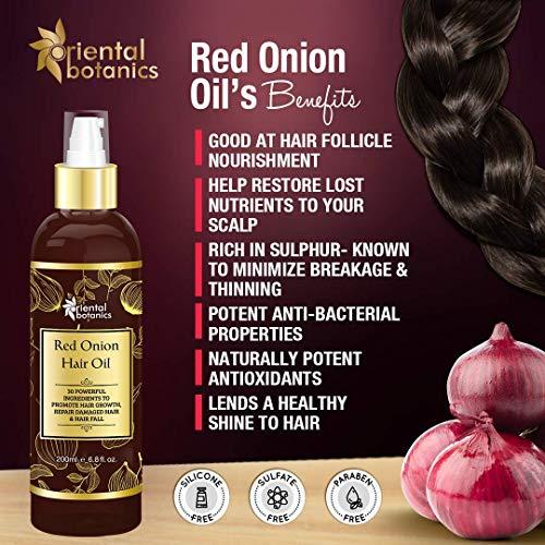 Oriental Botanics Red Onion Hair Oil
