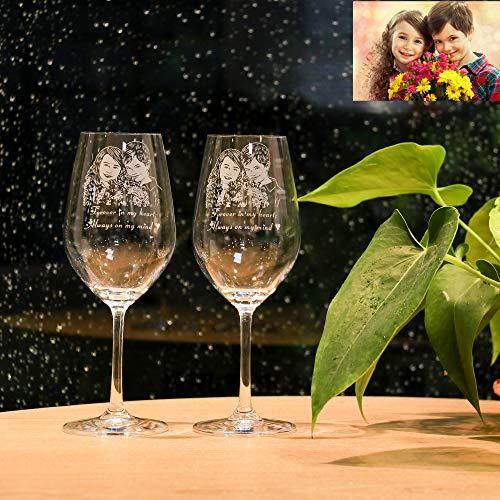 Copas De Vino Personalizadas Para Cumpleaños Marca ASD Jewerly