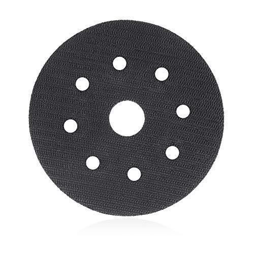 Klettscheibe 115mm 8-Loch Ersatzklett/Klett-Ersatz für Schleifteller, Polierteller, Stützteller- Klett selbstklebend rund – DFS