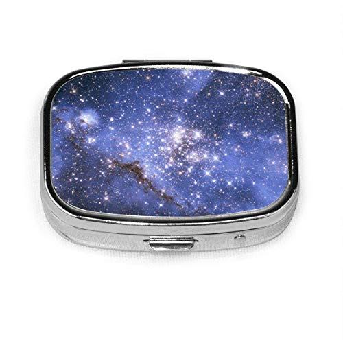 Cool Star Vast Universe Square Pillenetui Tragbare Box Tasche Geldbörse Tablet Medizinhalter Reiseorganisator Fälle