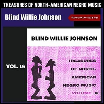 Treasures of North-American Negro Music, Vol. 16 (Recordings of 1927 & 1929)