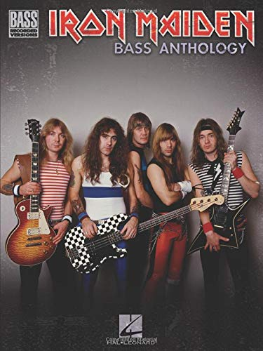 Iron Maiden Bass Anthology: Songbook, Grifftabelle für Bass-Gitarre (Bass Recorded Versions)