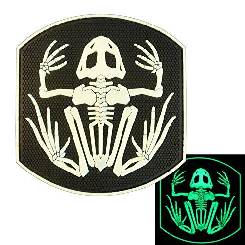2AFTER1 US Navy Seals Bone Frog Skull Glow Dark DEVGRU