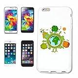 Reifen-Markt Hard Cover - Funda para teléfono móvil Compatible con Apple iPhone 7 Salvar el Planeta Reciclar Planeta Tierra Planeta DE PROTECCIÓN Ambiental del Med
