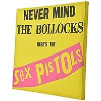 SEX PISTOLS セックスピストルズ (デビュー45周年記念) - Never Mind The Bollocks/キャンバス・プリント木枠(40×40×2.5cm) / インテリア額 【公式/オフィシャル】