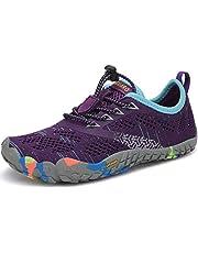 SAGUARO Kinderen Schoenen op Blote Voeten Ademend Antislip Loop Schoenen Licht Zacht Sportschoenen Hardloopschoenen, Maat 24-36