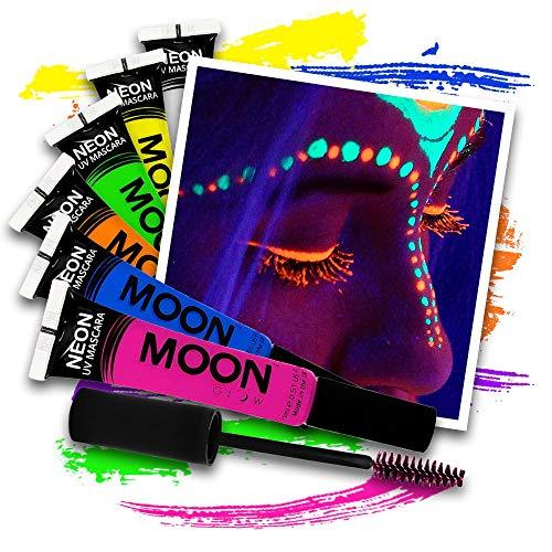 Neon UV Mascara - 6 Farben Set
