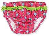 Playshoes Baby - Mädchen Schwimmwindel Badewindel, Badehose Blumen, UV-Schutz nach Standard 801 und Oeko-Tex Standard 100, Gr. 86 (Herstellergröße: 86/92), Mehrfarbig (original 900)