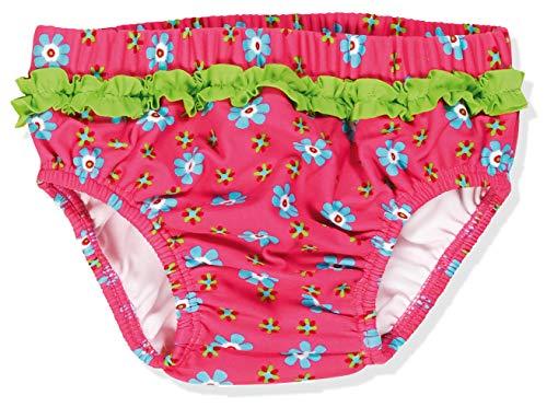 Playshoes Baby Mädchen Uv-schutz Windelhose Blumen Schwimmwindel, Pink, 74-80 EU