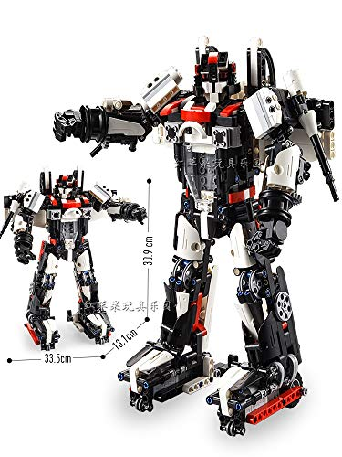 FC Puzzle Compatible Robot de Lego Aviones de Control Remoto eléctrico montado Serie de Aviones Juguetes educativos 2en1