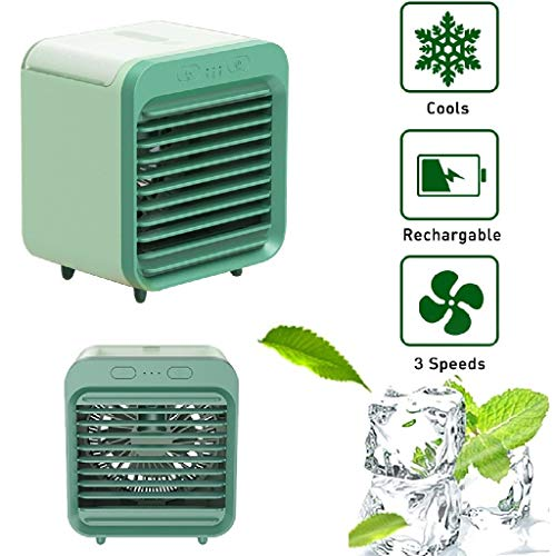 Neuester persönlicher Luftkühler Super leiser Luftbefeuchter Nebelventilator Tragbarer wiederaufladbarer wassergekühlter Klimaanlagenlüfter