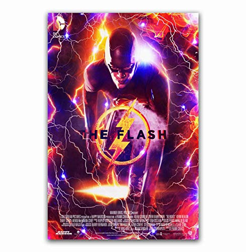 MZCYL Canvas Painting Wall Art Picture The Flash 2018 DC Movie Comic Superhero Posters Print Canvas Painting Sin Marco 40 * 60Cm