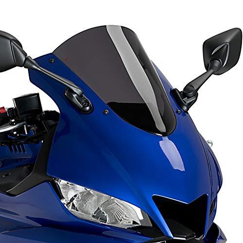 Racingscheibe R-Racer für Yamaha YZF-R3 19-20 dunkel getönt Puig 3737f
