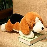 Stuffed Animal, Cute Plush Beagle Dog Plush Pillow, Home Decoration Plush Gift, Halloween Stuffed Animal 60cm no Clothes