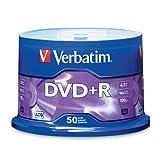 Verbatim/Smartdisk 16x Dvd+R Media 4.7gb 120mm Standard 50 Pack Spindle Write-Once Storage