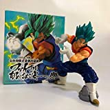 LJXGZY Dragon Ball Z Blue Hair Gogeta Strongest Nirvana Goku Super Saiyan God Brush Outbreak Vegeta ...