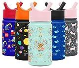 Simple Modern 14oz Summit Kids Water Bottle Thermos...