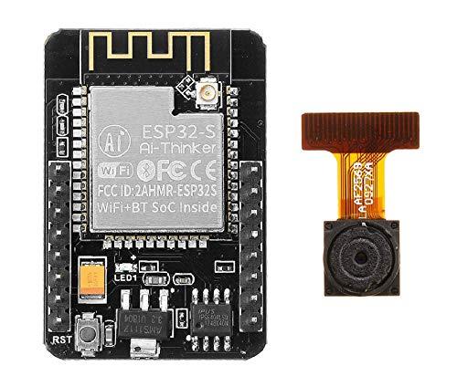 ILS ESP32-CAM WiFi + Bluetooth Tarjeta de desarrollo Fotografías ESP32 con módulo fotográfico OV2640 2MP